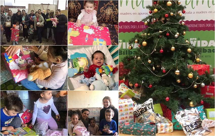 68 niños reciben su regalo por Navidad