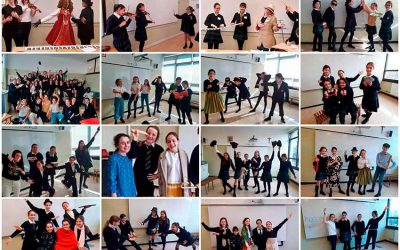 Creative dances and classical music in a real way