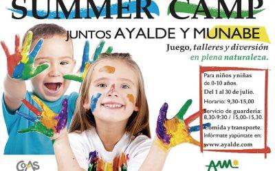 Ayalde-Munabe Adventure Summer Camp