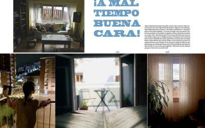 Alumnas de Bachillerato comparten su visión sobre la cuarentena en un libro de arte internacional