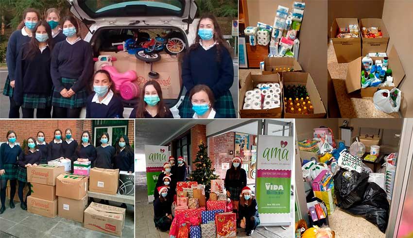 """Boga-Boga Ayalde encabeza cuatro campañas solidarias para """"compartir la Navidad con los demás"""""""