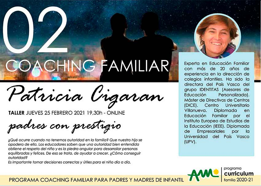 Coaching Familiar en Infantil y primer ciclo de Primaria