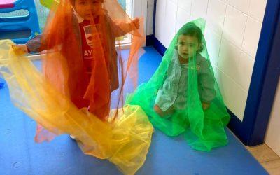 Texturas y colores al servicio del desarrollo motor y sensorial en infantil