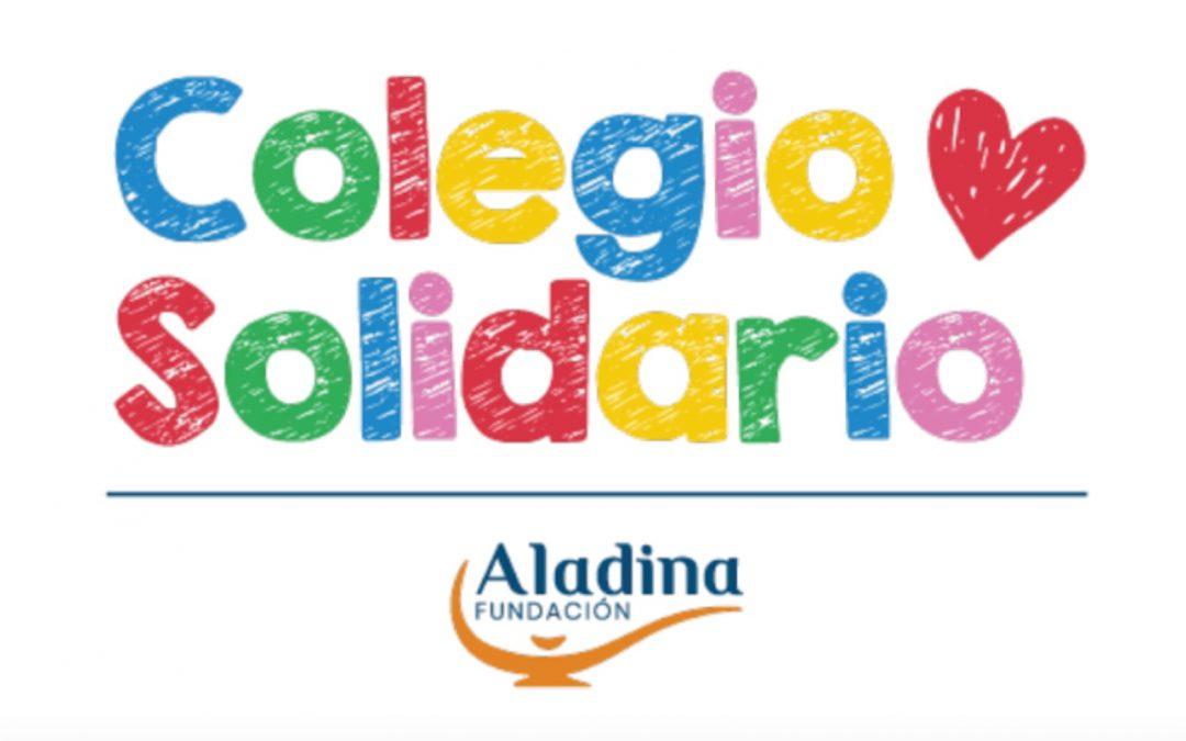 El colegio obtiene un reconocimiento de la Fundación Aladina